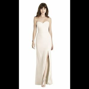 Strapless Ivory Gown